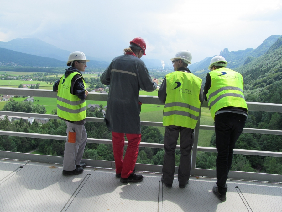 Loesche Plant Tour in Austria