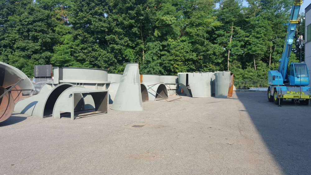 Cyclone parts for Termokimik (UKR)