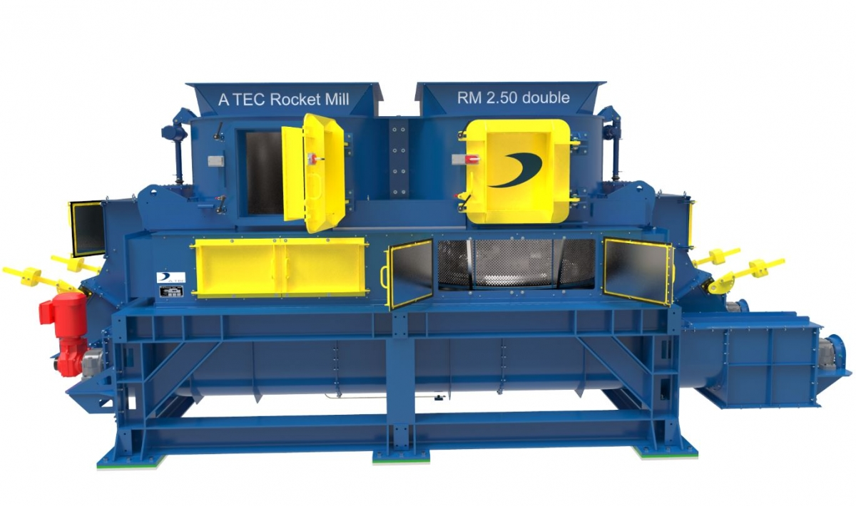 Two Rocket Mills for Ssang Yong Cement Co. (South Korea)
